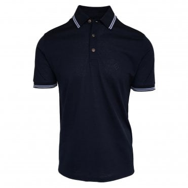 Pal Zileri Navy Soft Touch Polo Shirt