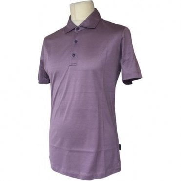Pal Zileri Purple Mercerised Polo Shirt K3MMS910 94700 18