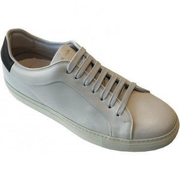 Paul Smith Basso Calf Leather Quiet White Trainers SUXC/R266/LEA 02