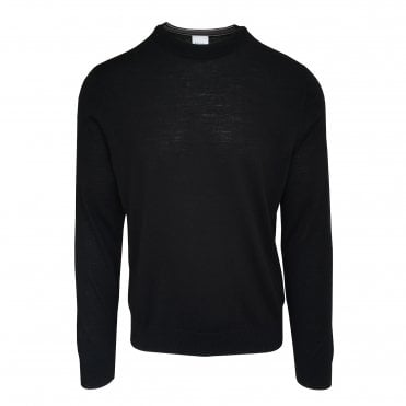 Paul Smith Black Crewneck Sweater