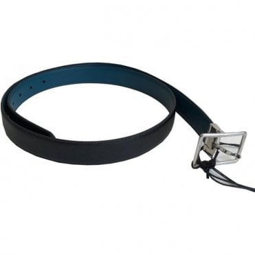 Paul Smith Black Reversible Leather Belt ASCX4908 B520 B1