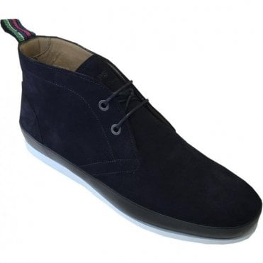 Paul Smith 'Cleon' Dark Navy Suede Boots SUDXD/V100/SUE 49