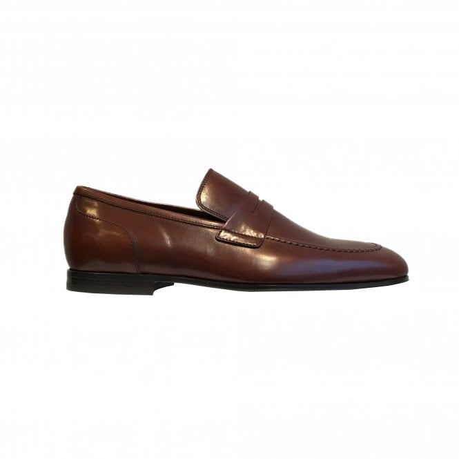 Paul Smith Dark Brown Leather 'Chilton' Shoe