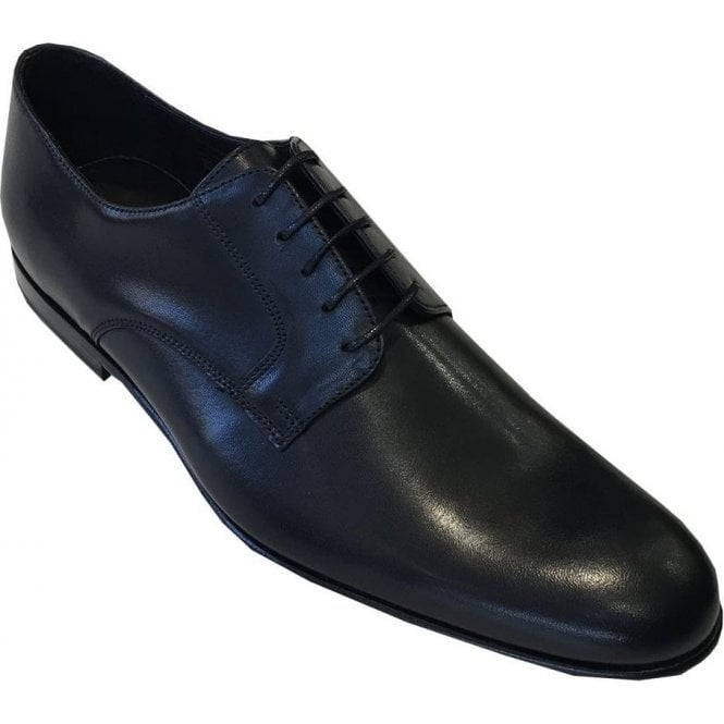 Paul Smith 'Gould' Black Burnished Calf Leather Shoes SUXD/V146/BCA 79