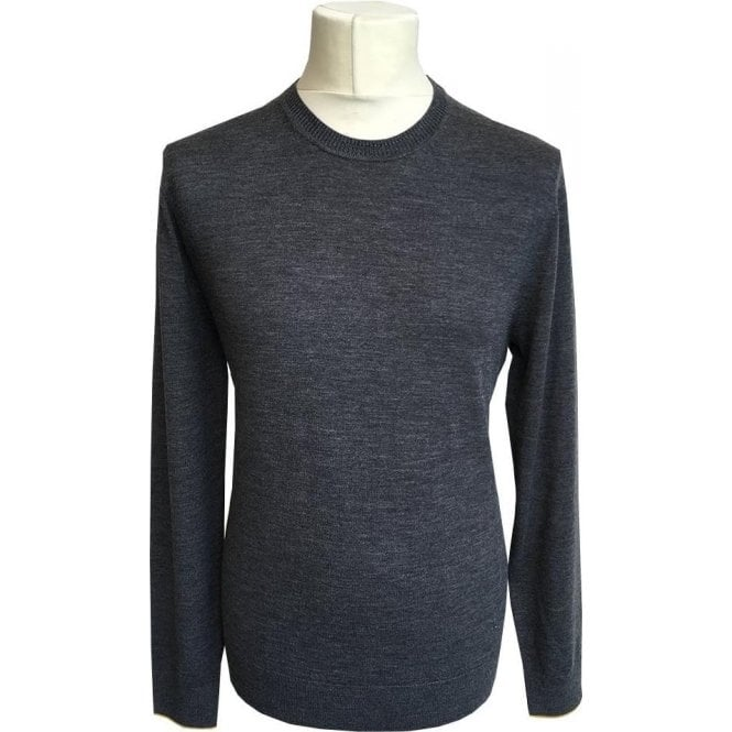 Paul Smith Grey Crewneck Merino Wool Pullover PTXD/621R/879 74