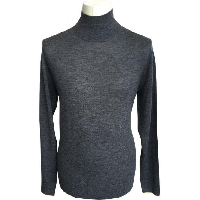 Paul Smith Grey Turtle Neck Long-Sleeve Merino Wool Pullover PTXD/626R/879 74