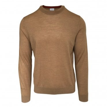 Paul Smith Light Brown Crewneck Sweater