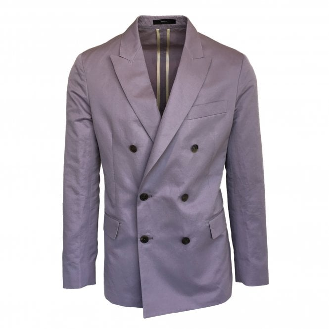 Paul Smith Lilac Double Breasted Jacket