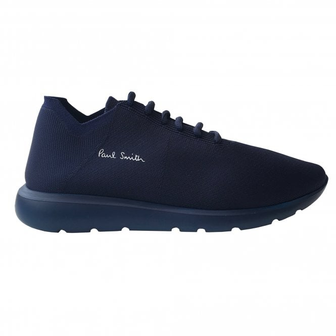 Paul Smith Navy 'Gear' Knitted Trainer