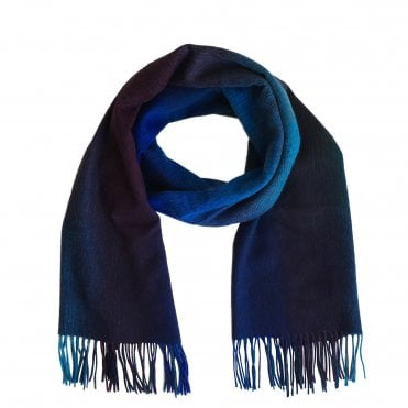 Paul Smith Navy Gradient Scarf