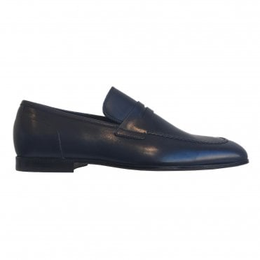 Paul Smith Navy Leather 'Chilton' Shoe