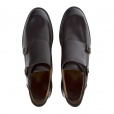 Paul Smith Shoes Paul Smith GILL Double Strap Monk Boots in Dark Brown. SLXC/N010/PAR/TM