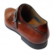 Paul Smith Shoes Paul Smith WREN High Shine Monk Shoes in Cuero Tan. SLXD/M206/HSH/C61