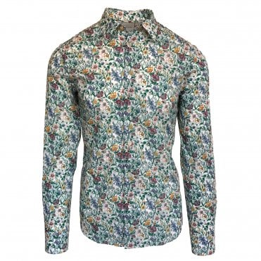 Paul Smith 'Spring Floral' Print Shirt