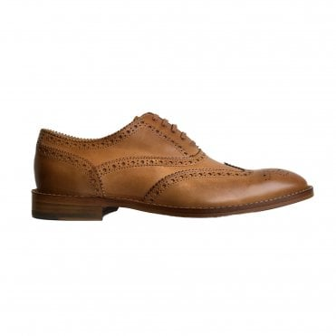 Paul Smith Tan Leather 'Munro' Flexible Travel Brogues