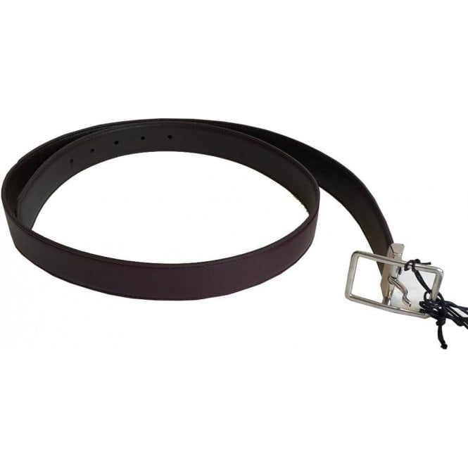 Paul Smith Tan Reversible Leather Belt ASCX4908 B520 T1