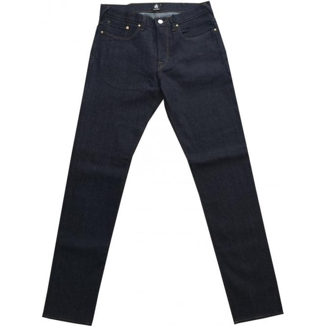 Paul Smith Tapered Fit Denim Jeans With Light Brown Stitch Details PTXD/301Z/706 32