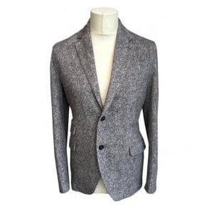 Circolo 1901 Grey Stretch Cotton Sports Jacket 'Cashmere Feel Tweedlavaewa' CW1586 201