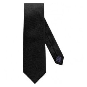 Eton Shirts Black Silk Tie A000202001980