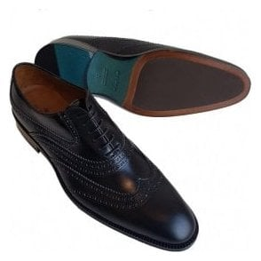 Etro Brogue Black Leather Shoes 11152 2510 0001