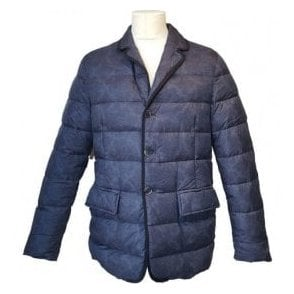 Etro Milano Casual Down Jacket With Paisley Pattern U25 1S342 9736