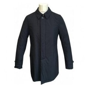 Herno Tech Navy Raincoat IM0156 13275 9200