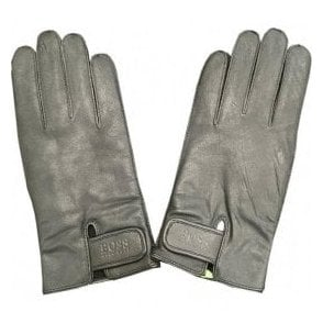 Hugo Boss 'Kouper' Black Goat Leather Gloves 50372052