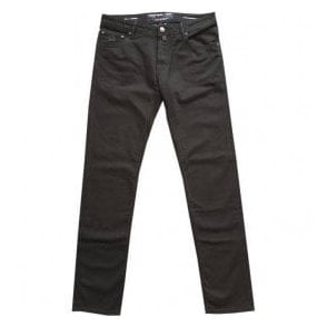 Jacob Cohen Black Denim Jeans J622 Comf 8778-001