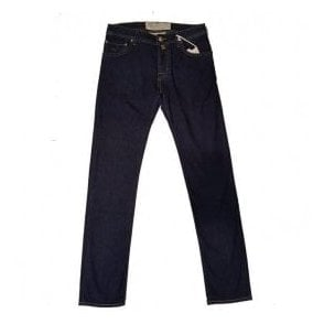 Jacob Cohen Dark Wash Denim Jeans PW622 COMF 0517-002