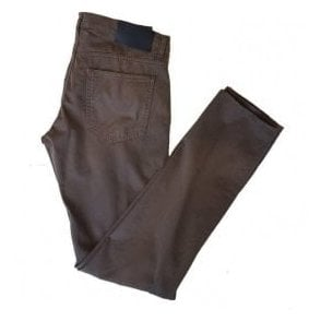 Pal Zileri Mushroom Slim-Fit Trousers J31NJ421 07