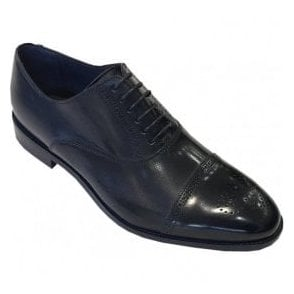 Paul Smith 'Bertin' Black Shoes With Navy Tint SUXC/V018/BCA 49