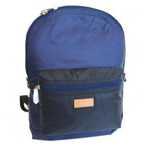 Paul Smith Black and Blue Backpack ASXC5091L865 1