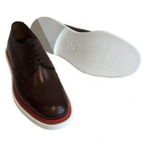 Paul Smith 'JUNIOR' Dark Brown Smart Shoes- SSXD T229 ACA - DS