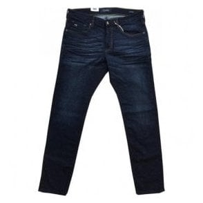 Scotch & Soda Dark Denim Ralston Regular Slim Fit Jeans 137637