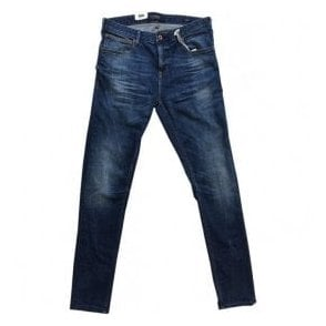 Scotch & Soda SKIM Skinny Fit Plus Lasso Blue Denim Jeans 137591