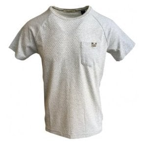 Scotch & Soda Tonal Beige Short Sleeve T-Shirt 142659
