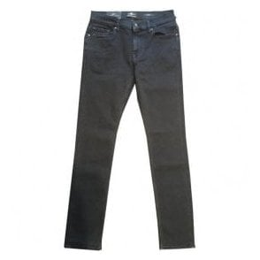 Seven For All Mankind 'Ronnie' Garment Dyed Dark Blue Jeans SD4R460EK
