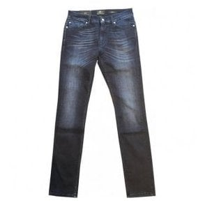 Seven For All Mankind 'Ronnie' Garment Dyed Stretch Cotton Denim Jeans SD4R460AI