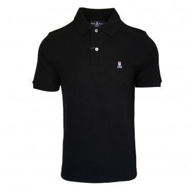 Psycho Bunny Black Polo Shirt