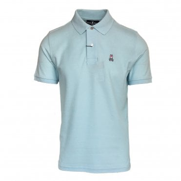 Psycho Bunny Ice Blue Polo Shirt