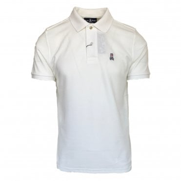 Psycho Bunny White Polo Shirt