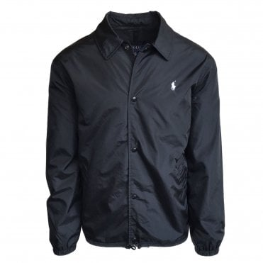Ralph Lauren Polo Black Coach Jacket