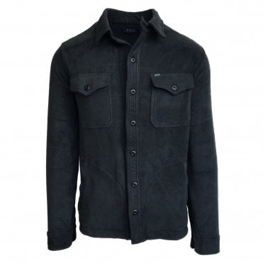 Ralph Lauren Polo Black Fleece Shirt Jacket