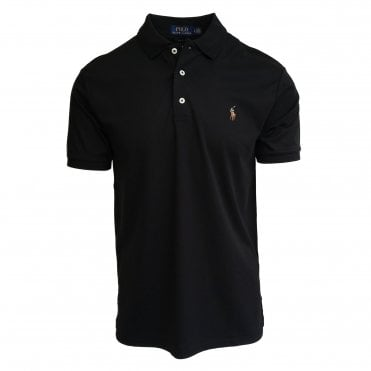 Ralph Lauren Polo Black Soft-Touch Polo Shirt