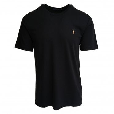 Ralph Lauren Polo Black Soft-Touch T-Shirt