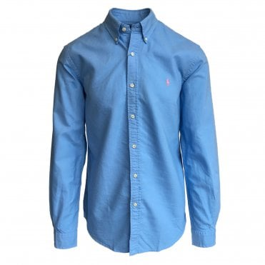 Ralph Lauren Polo Blue Oxford Shirt