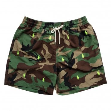 Ralph Lauren Polo Camouflage Swimming Shorts