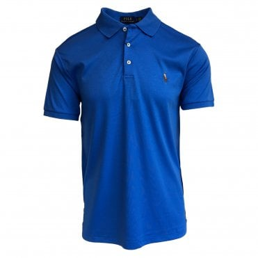 Ralph Lauren Polo Cobalt Blue Soft-Touch Polo Shirt