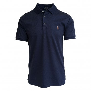 Ralph Lauren Polo Dark Blue Soft-Touch Polo Shirt