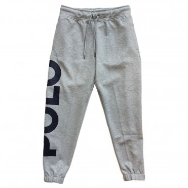 Ralph Lauren Polo Grey Logo Jogging bottoms
